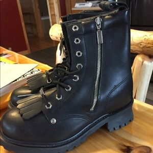 Harley Davison boots new with tags size 10